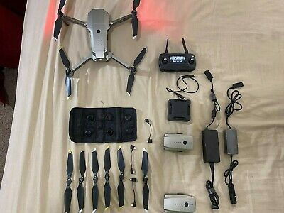 AU951.15 • Buy DJI Mavic PRO Platinum Drone Quadcopter Fly More Combo Very Good Condition