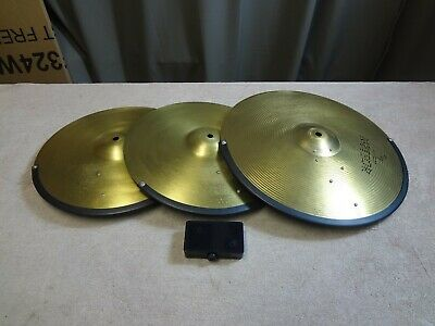 AU250 • Buy USED ELECTRONIC CYMBALS (3 Piece Suit Roland Modules)