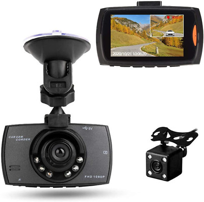 AU56.13 • Buy RBNANA Full HD 1080P Dash Cam For Car, 170°Wide Angle Dash Front And Rear Camera