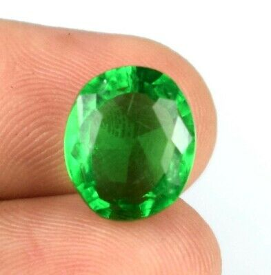 £1.05 • Buy 4.65 Ct Muzo Colombian Emerald Oval Gems Natural Certified A50380 Fresh Arrival