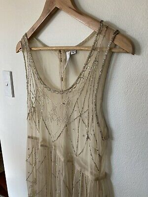 AU55 • Buy Forever New 1920's Beaded Gown Size 12 Worn Once Was $159