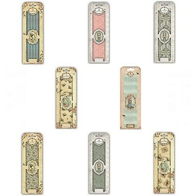 £7.99 • Buy CLEARANCE - 8 Packs Of Santoro Mirabelle Deco Mache Decoupage Papers New Lot 1