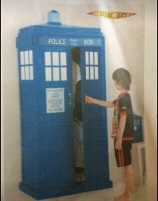 £210 • Buy Dr Who Tardis Wardrobe From Next And Complete Bedroom Set & Curtains