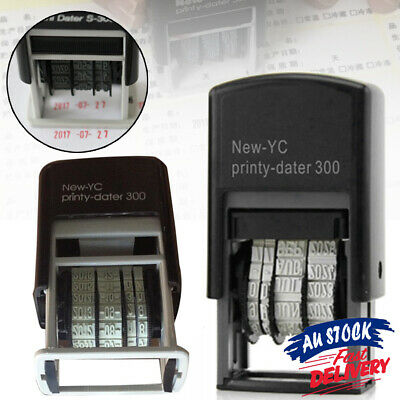 AU10.99 • Buy Stationery Rubber Supplies S3 Mini Self-Inking Date Stamp Business Office