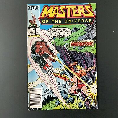 $29.99 • Buy Masters Of The Universe Marvel Star Comic #8 He-Man Skeletor Mosquitor Newsstand