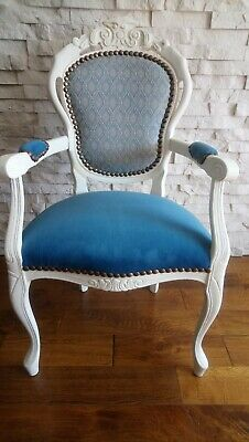 £125 • Buy Shabby Chic French Style Carver Chair