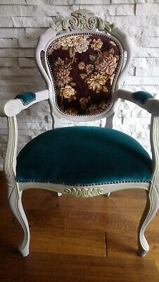 £125 • Buy Shabby Chic French Style Chair Carver Chair