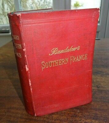 £9.99 • Buy 1907 Baedeker Southern France & Corsica Handbook For Travellers Maps Cannes ^