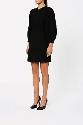 AU200 • Buy Scanlan Theodore Crepe Knit Coupe Short Dress Size Small