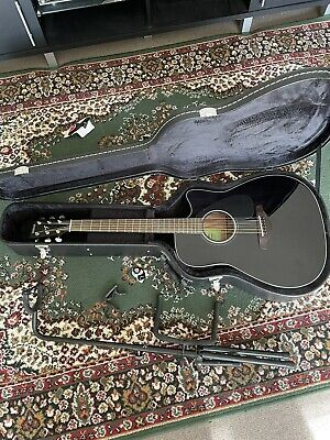 AU375 • Buy Yamaha FGX800c Electric Acoustic Guitar (with Case, Stand, Capo And Picks)