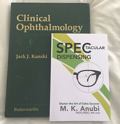 £29 • Buy Clinical Ophthalmology By Kanski And Spectacular Dispensing Combo