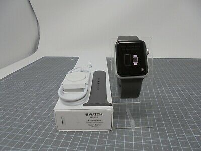 $ CDN259.65 • Buy Apple Watch Series 3 Smart Watch GPS And Cellular - 42mm - Silver - AW3X46