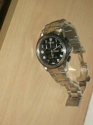 £130 • Buy Gents Victorinox Swiss Army Chronograph 241403 Watch Boxed Working