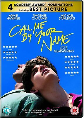 AU5.59 • Buy Call Me By Your Name DVD Gay Interest Film Movie