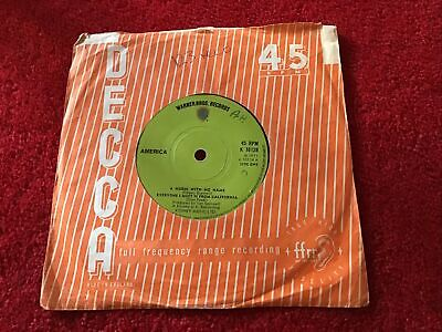 """£2.99 • Buy America - A Horse With No Name 7"""" Vinyl  Single Record 1971"""