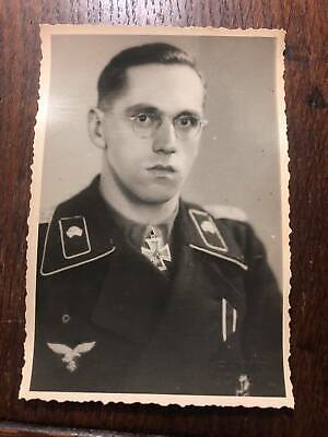 £8.90 • Buy German Wwii Photo: Wehrmacht Officer - Knight's Cross Recipient, Name