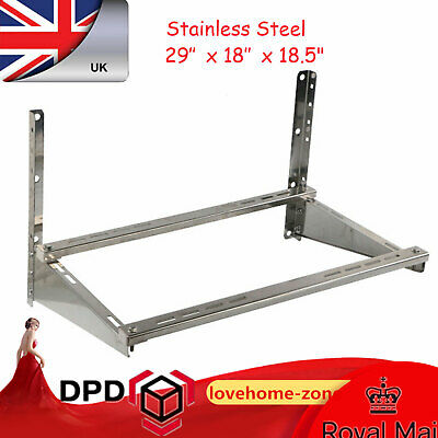 £42.01 • Buy Universal Air Conditioner's Support Bracket Wall Mount Shelf Stainless Steel 201