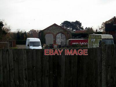 £2.05 • Buy Photo  Over The Fence The Goods Shed Of Snettisham Station Which Was On The Line