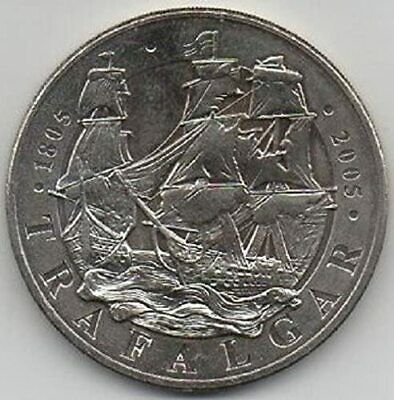 £14.99 • Buy 2005 £5 Five Pound Coin BATTLE OF TRAFALGAR - Free Postage - Scarce Coin