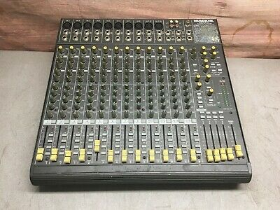 $209.99 • Buy Mackie 1642-VLZ  16-Channel Analog Mic/Line Mixer  -Tested