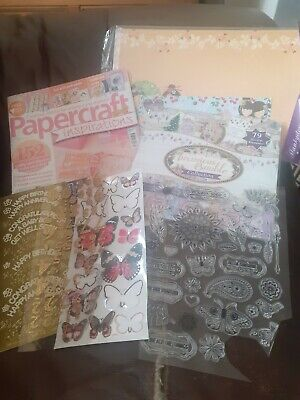 £0.99 • Buy Card/ Craft Bundle/ Decoupage/ Stamps/ Cards/ Papers