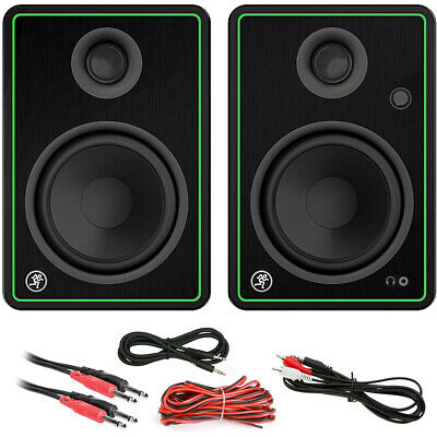$174.99 • Buy Mackie CR5-X 5  Creative Reference Multimedia Monitors CABLE KIT