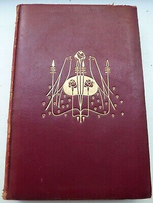 £5 • Buy Blackie & Son, The Red Letter Poets Lord Byron 1905 -Talwin Morris Leather Cover
