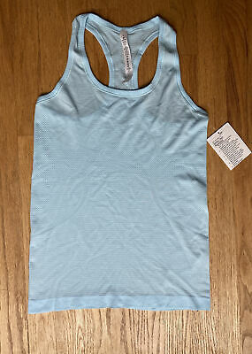 $ CDN41.54 • Buy Lululemon Swiftly Tech Tank In Light Sky Blue Size 6 Brand New With Tag