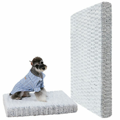 £19.98 • Buy Waterproof Mattress For Dogs Cage Crate Mat Zipped Warm Cushion Washable Cover