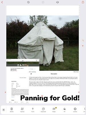 £2200 • Buy Yurt, And 2 Tipis. The Village.canvas Tents, Excellent Condition.