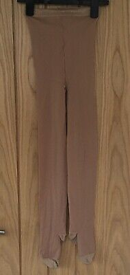 £2.65 • Buy CAPEZIO Adult Girls Tan Full Foot Lycra Tights Size Adult Long