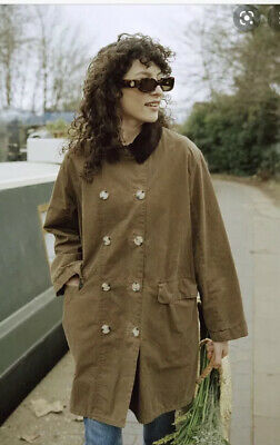 AU190.59 • Buy BNWT Barbour Alexa Chung MAUD Brown Coat Jacket Size 12 SOLD OUT Oversize NEW