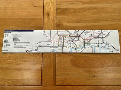 £3.20 • Buy GENUINE Central London Tube Map London Underground Tube Map Car Carriage