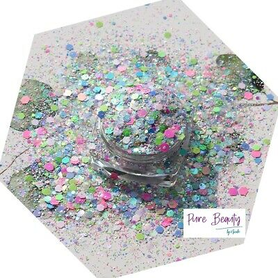 £2 • Buy Chunky Festival Glitter Mix Face Eye Body Club Cosmetic10g Special Edition