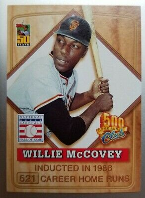 $0.99 • Buy 2001 Topps Post 500 Home Run Club Willie McCovey #4