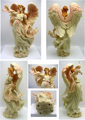 $40 • Buy 1997 ROMAN SERAPHIM ANGEL 78104 ~ HOPE, LIGHT In The DISTANCE ~ BREAST CANCER