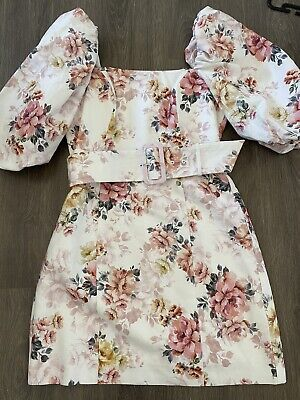 AU40 • Buy As New Forever New Puff Sleeve Ashley Dress Size 10