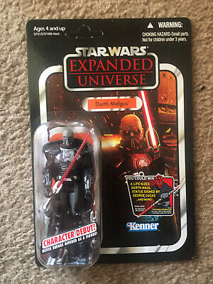 $ CDN62.93 • Buy 2011 Star Wars The Vintage Collection VC96 Darth Malgus  MOC Unpunched Card.