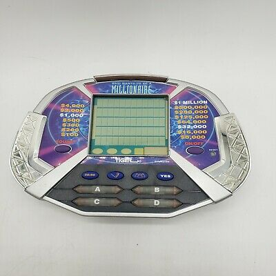 £8.75 • Buy Who Wants To Be A Millionaire Hand Held Electronic Game Tiger Electronics