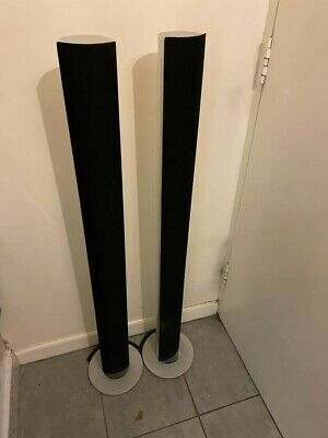 £80 • Buy Bang And Olufsen Active Stereo Speakers Silver/black Pair