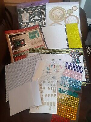 £0.99 • Buy Card/ Craft Bundle/ Patterned Papers/ Cards/ Stickers/ Decoupage