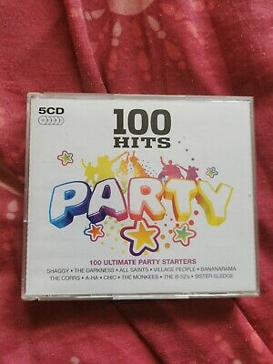 £3.99 • Buy Various Artists : 100 Hits: Party 5 Discs CD Music Compilation Album 2008