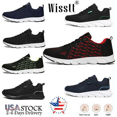 $21.99 • Buy Men's Lightweight Walking Shoes Traveling Tennis Shoes Athletic Casual Sneakers