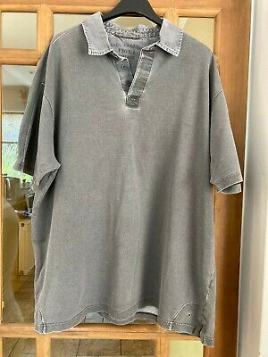 £1.50 • Buy Marks & Spencer Blue Harbour Grey Short Sleeve Polo T Shirt Size Xl
