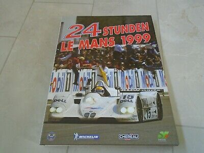 £9.99 • Buy 24 Hours Of Le Mans 1999 Yearbook Annual - German Edition