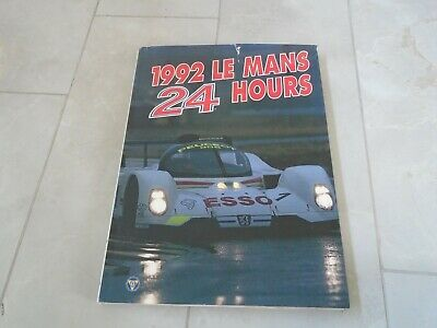 £24.99 • Buy 24 Hours Of Le Mans 1992 Yearbook Annual