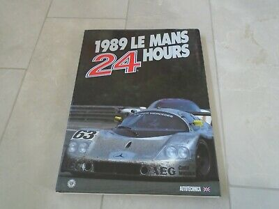 £24.99 • Buy 24 Hours Of Le Mans 1989 Yearbook Annual