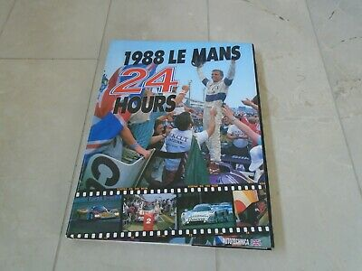 £39.99 • Buy 24 Hours Of Le Mans 1988 Yearbook Annual