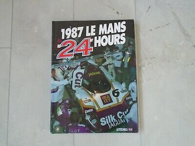 £19.99 • Buy 24 Hours Of Le Mans 1987 Yearbook Annual