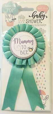 £2.50 • Buy Baby Shower Mummy Badge, With Pinned Back, Prefect For Baby Showers